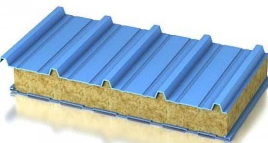 кровельные сэндвич панели для строительства дома
