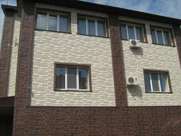 пластиковые фасадные панели для наружной отделки дома
