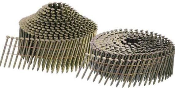 бывшие в употреблении гвозди для пистолета