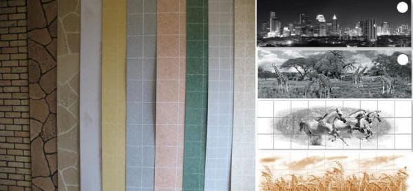 стеновые панели из пвх для кухни