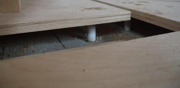 Какой толщины фанеру стелить на деревянный пол