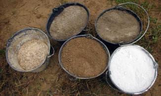 известково – глинопесчаная смесь для штукатурки печи