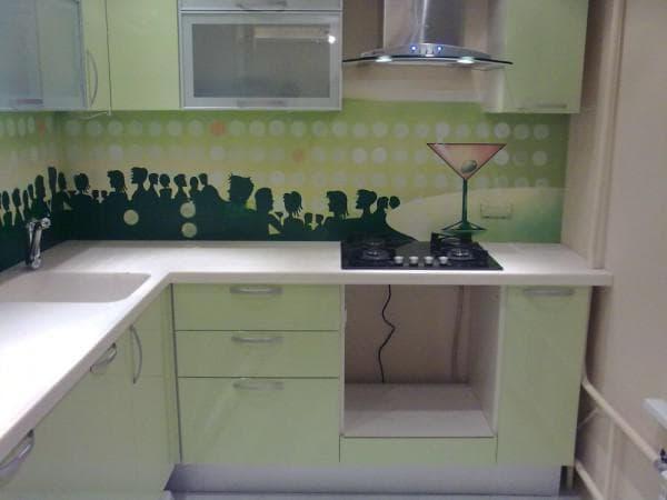 стеновые панели из пвх для кухни различного цвета