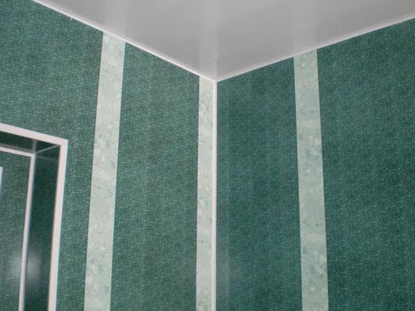 стеновые панели МДФ зелёного цвета для внутренней отделки