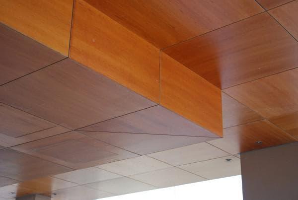 мдф потолочные панели шпонированные