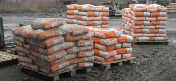 цемент м 400 по 50 кг в мешках