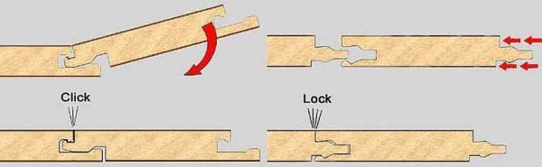 крепление панелей Шип-паз