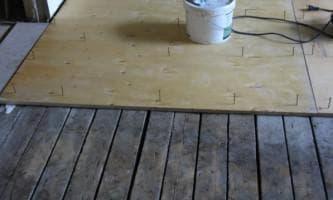 фанера на пол толщина на деревянный пол