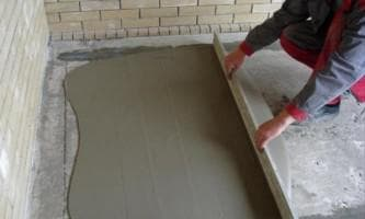 цемент для стяжки пола