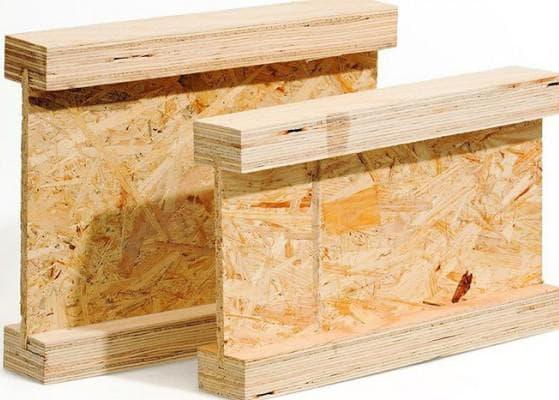 балка деревянная двутавровая
