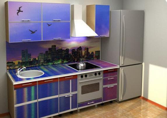 панели для кухни с рисунком Стимекс