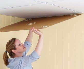 клей для потолочной плитки из пенопласта