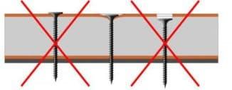 саморезы для гипсокартона различной длины