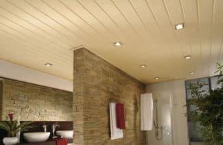 панели мдф для потолка дома