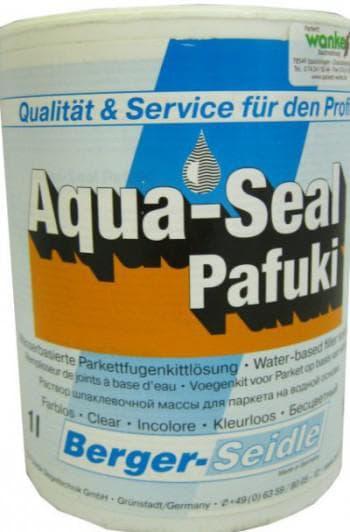 шпаклевка для пола деревянного Berger Aqua-Seal Pafuki