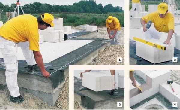 кладочные или стеновые газоблоки