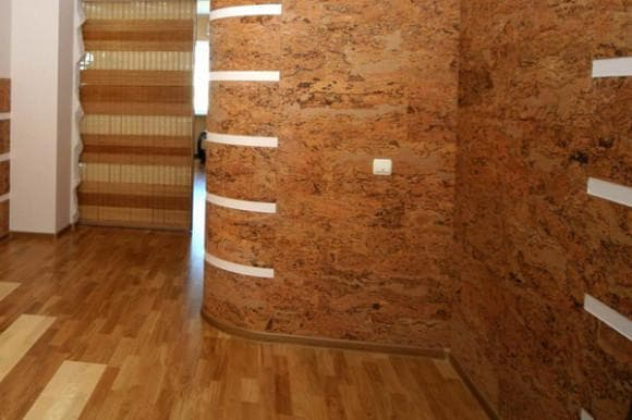 стеновые панели из пробки