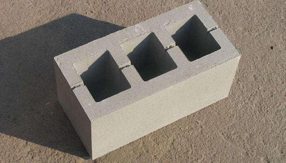 Размеры бетонных блоков для стен