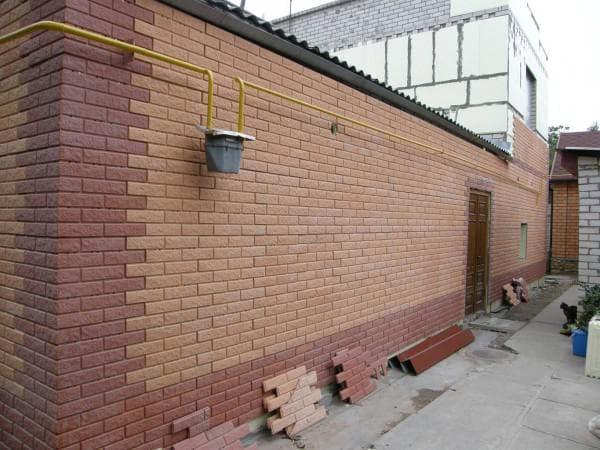квадратные наборные плиты стеновые панели под кирпич для наружной отделки