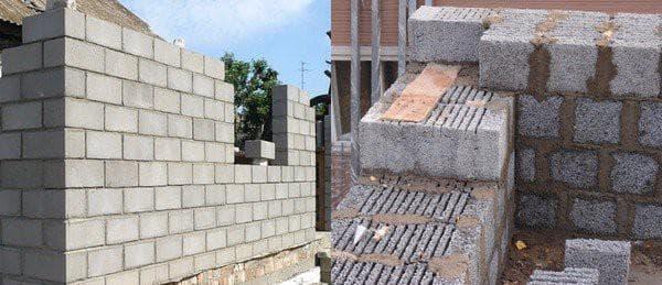 керамзитобетонного блока для стен