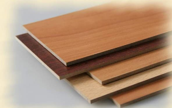 ламинированный двп лист