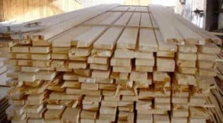 доска обрезная 20х100х6000 для стройки