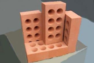 одинарный кирпич размер при строительстве