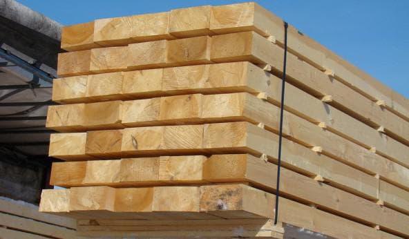 доска обрезная 40х150х6000 для укрепления котлованов