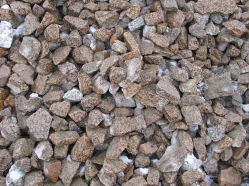 гранитный щебень до 20-40 мм