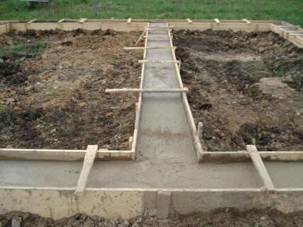 марка бетона на фундамент дома