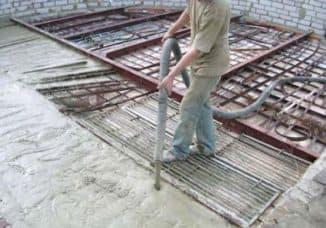 сколько весит куб бетона для строительства