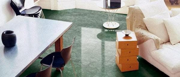 керамогранит под мрамор зелёного цвета