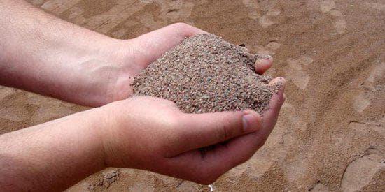 дробленый песок для строительства
