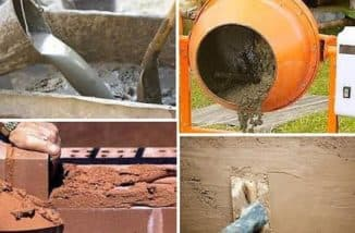 цементно песчаная смесь расход на 1м2 на стройке