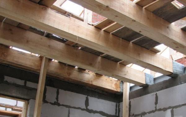 деревянные плиты перекрытия