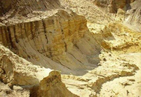 горный песок для строительства