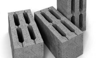 строительные бетонные блоки 20х20х40