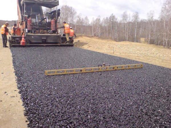 щебень для строительства дорог