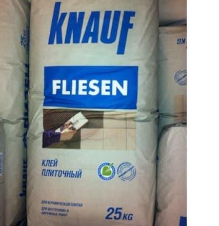 плиточный клей Кнауф флизелин
