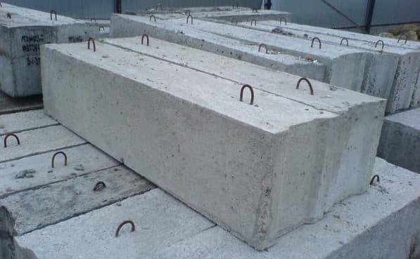 бетон В20 используют при строительстве блоков и плит