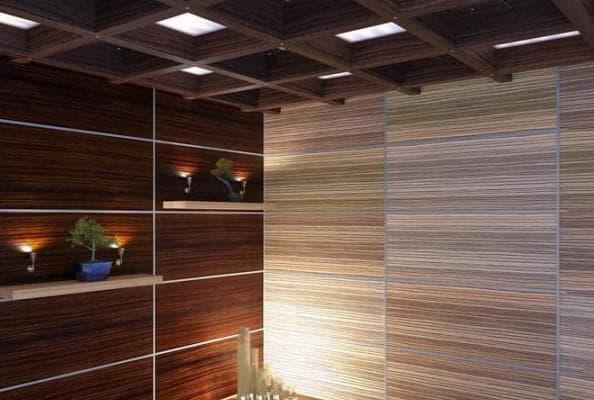 древесноволокнистые листовые стеновые панели для внутренней отделки