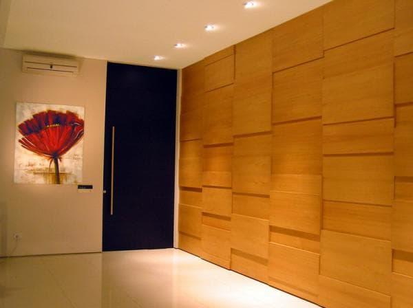 древесные листовые стеновые панели для внутренней отделки