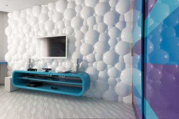 панели для внутреннего помещения 3 D