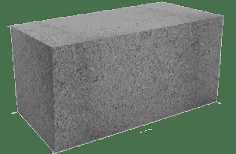 цельные строительные пескоцементные блоки 20х20х40