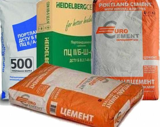 сколько мешков цемента в одном кубе бетона