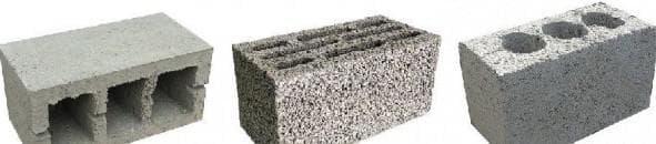 размеры керамзитобетонного блока
