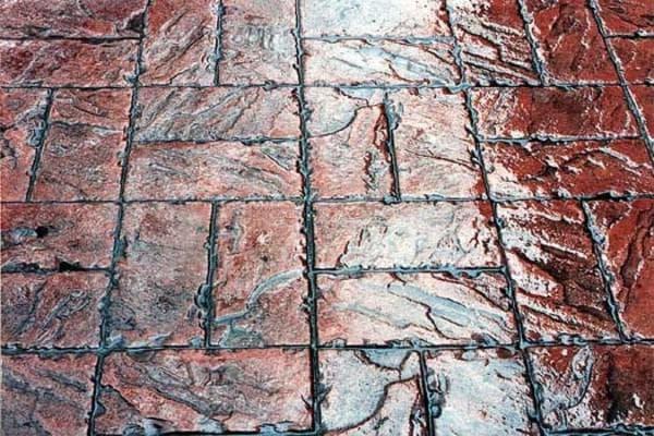 декоративный вид бетона