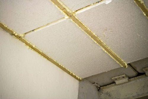 пенопласт для утепления на потолок в частном доме