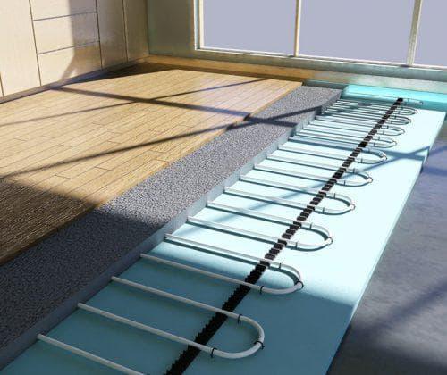 подложка под ламинат для теплого водяного пола