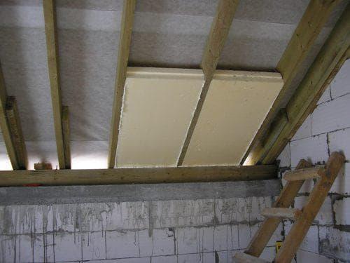 пенополистирол для утепления чердака на крыше